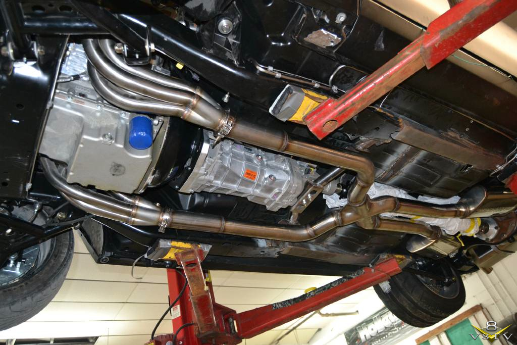 The Exhaust System Is 100 Tig Welded Stainless Steel Starting With Detroit Speed Headers And Flowing Through Magnaflow Xpipe: Ford F100 Exhaust System At Woreks.co
