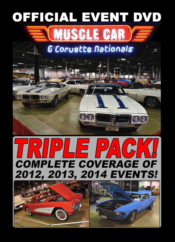 Muscle Car And Corvette Nationals DVD