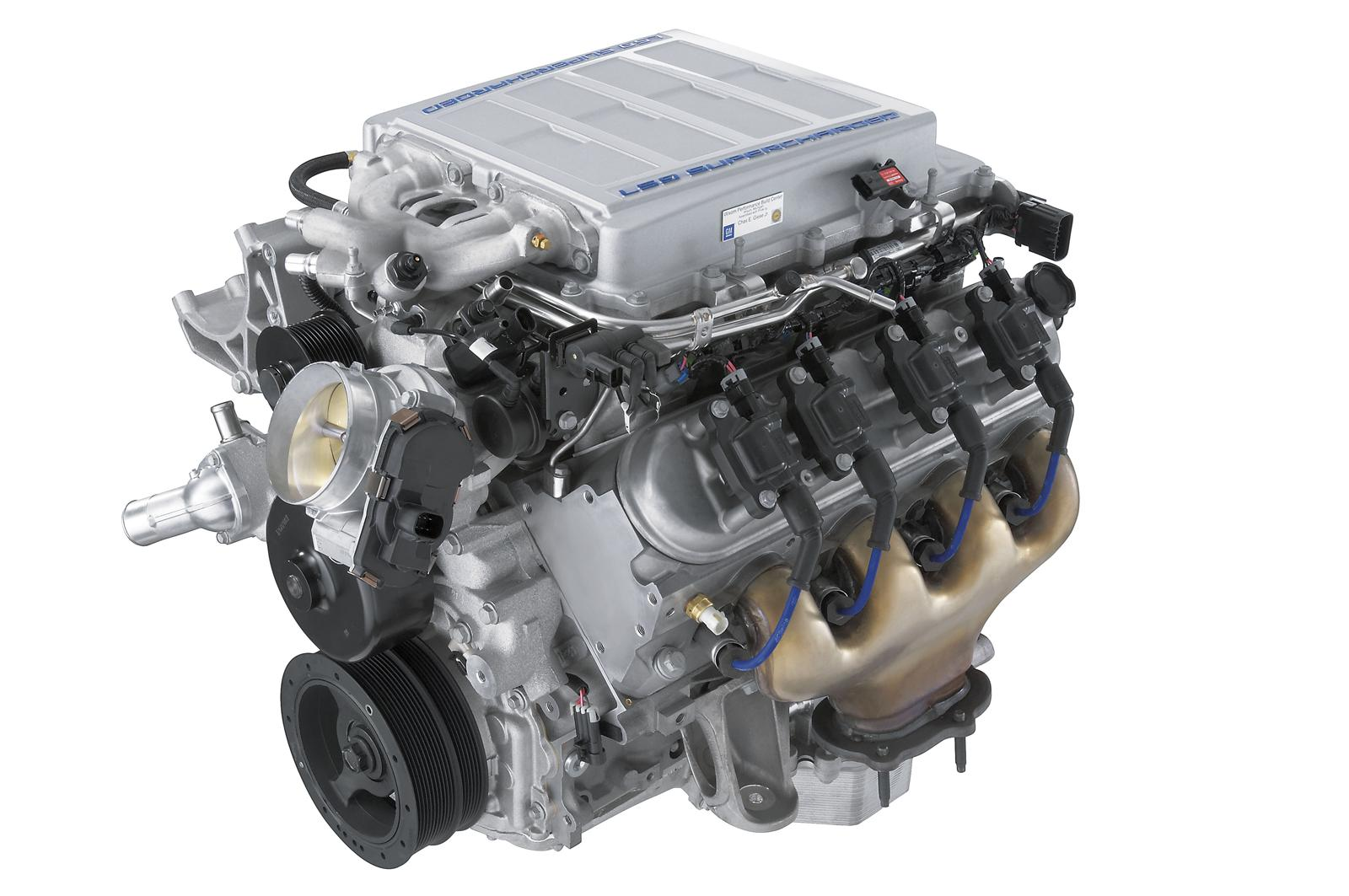 Chevrolet LS9 Supercharged V8 Engine