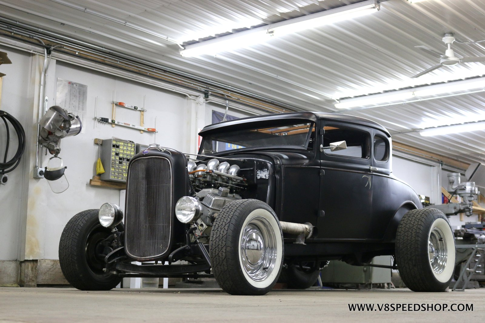 1930 Ford Model A Hot Rod at the V8 Speed and Resto Shop