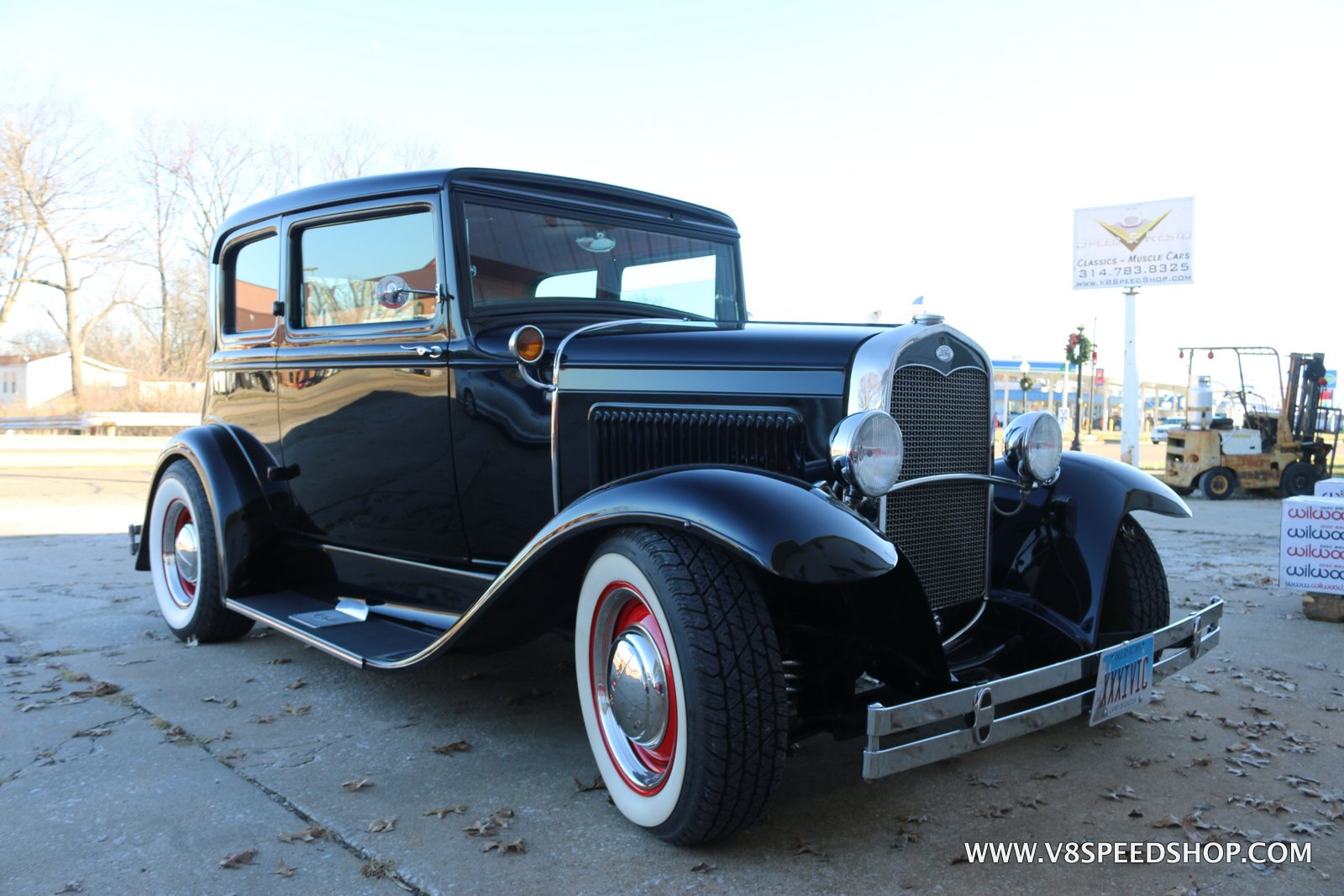 1931 Ford Vicky Suspension Upgrades and Repairs at the V8 Speed and Resto Shop