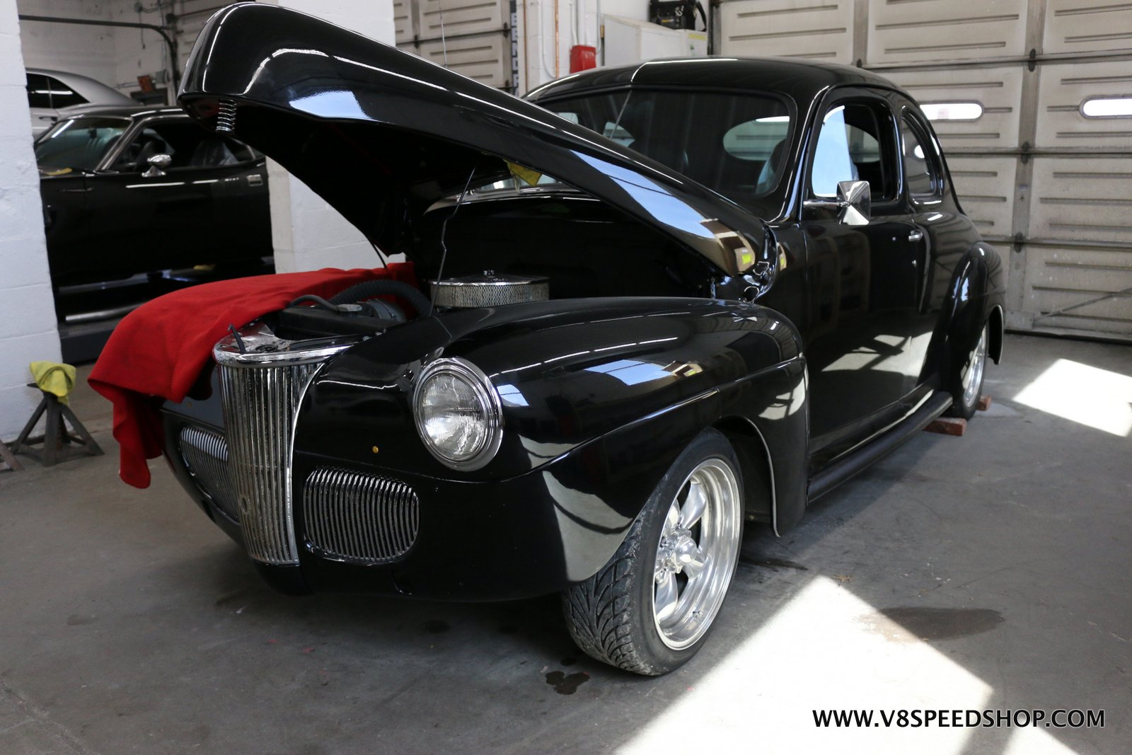 1941 Ford Window Seals and Suspension Upgrades Repairs at the V8 Speed and Resto Shop