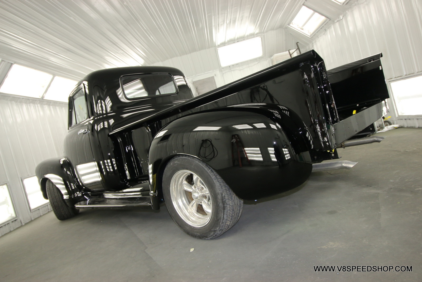 1951 Chevrolet Pickup Restoration at the V8 Speed and Resto Shop