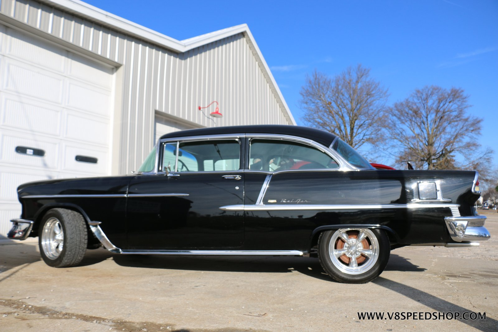 1955 Chevrolet Bel Air Maintenance at the V8 Speed and Resto Shop