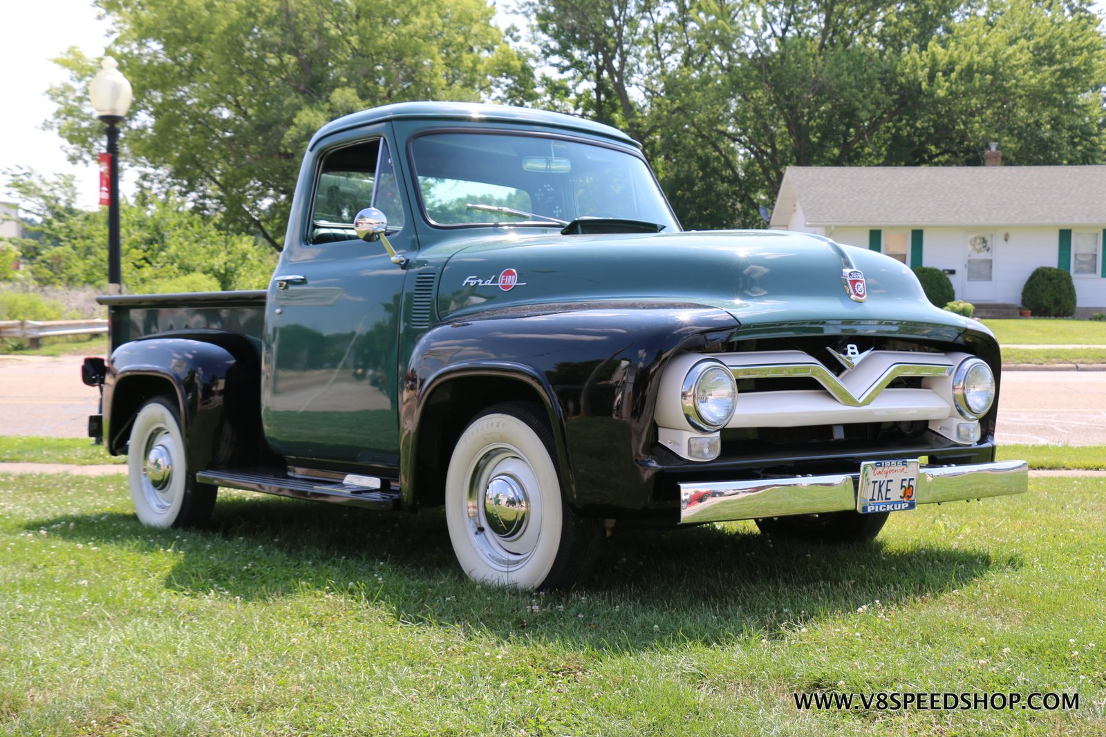 1955 Ford F100 Upgrades at the V8 Speed & Resto Shop