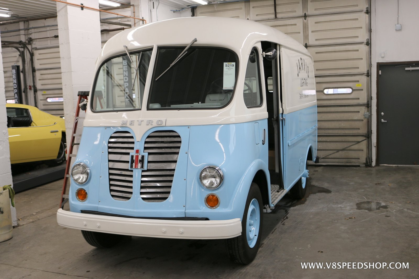 1961 International Metro Delivery Van Modifications Photo Gallery at V8 Speed and Resto Shop