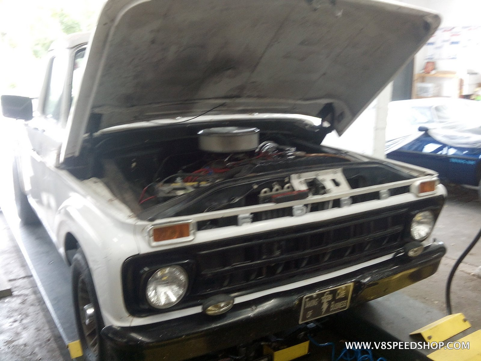 1965 Ford F100 Upgrades at the V8 Speed & Resto Shop