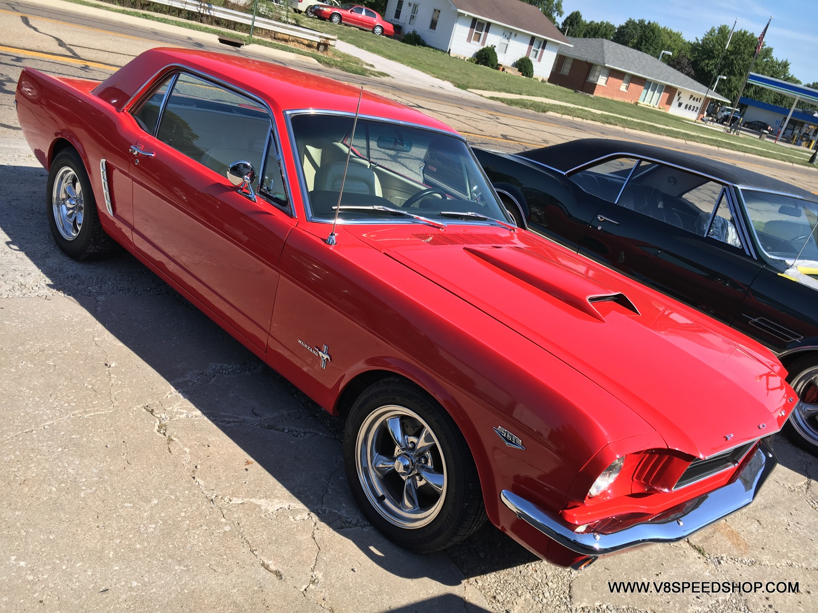 1965 Ford Mustang Maintenance and Upgrades at V8 Speed and Resto Shop