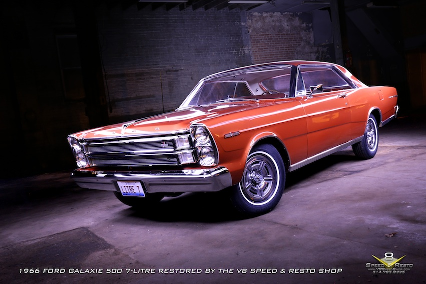 1966 Ford Galaxie 7-Litre Complete Restoration at V8 Speed & Resto Shop