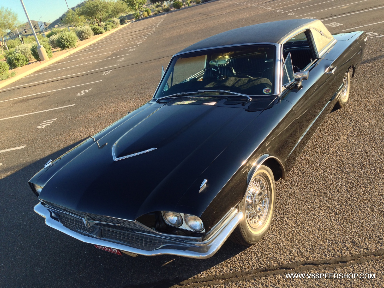 1966 Ford Thunderbird Maintenance at V8 Speed & Resto Shop