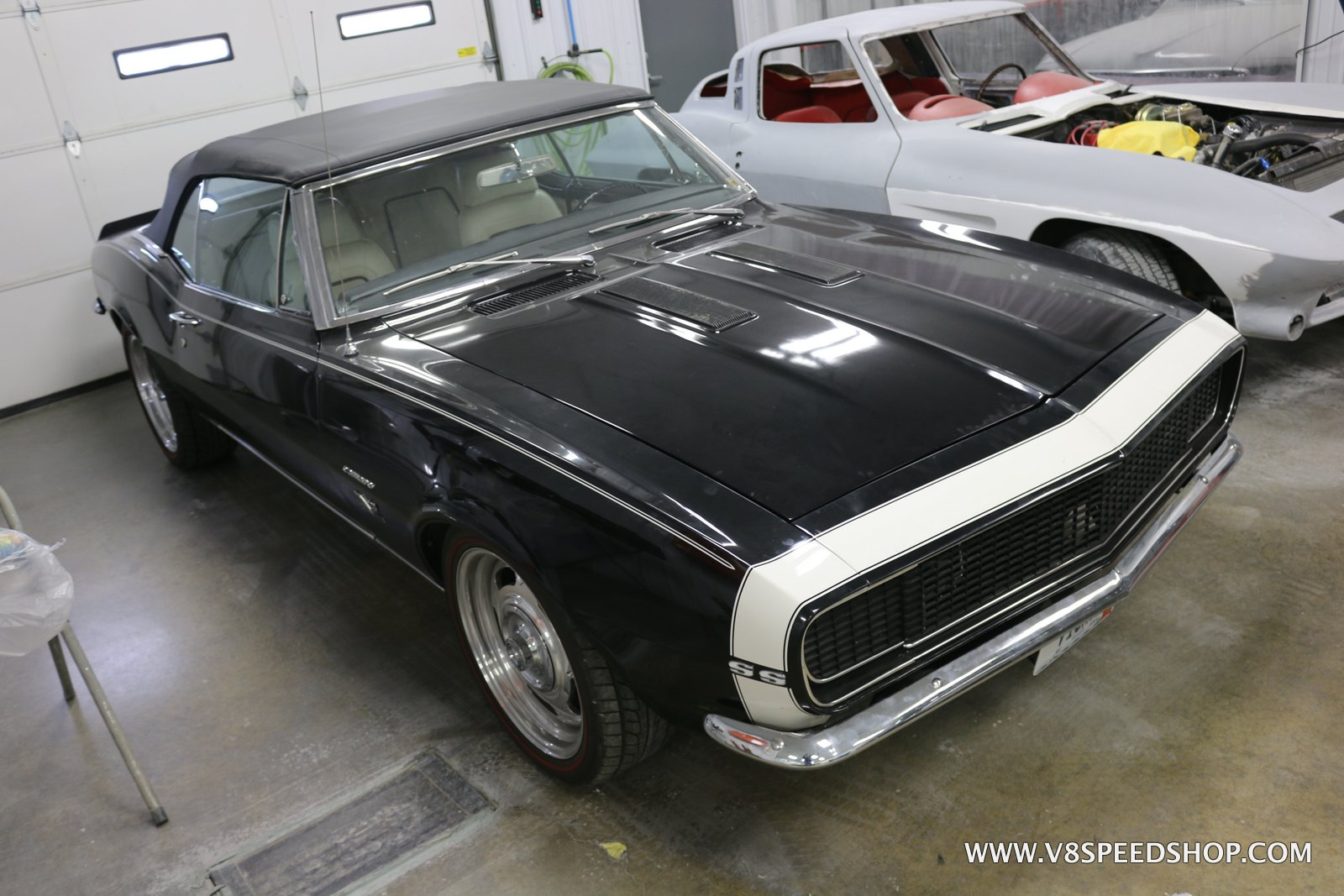 1967 Chevrolet Camaro RS/SS Convertible Maintenance at V8 Speed and Resto Shop