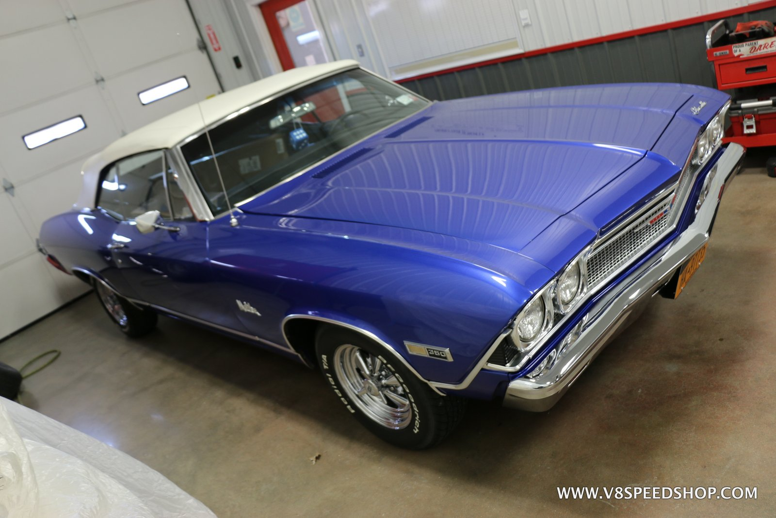 1968 Chevelle 5-Speed Manual Transmission Installation Photo Gallery at V8 Speed & Resto Shop