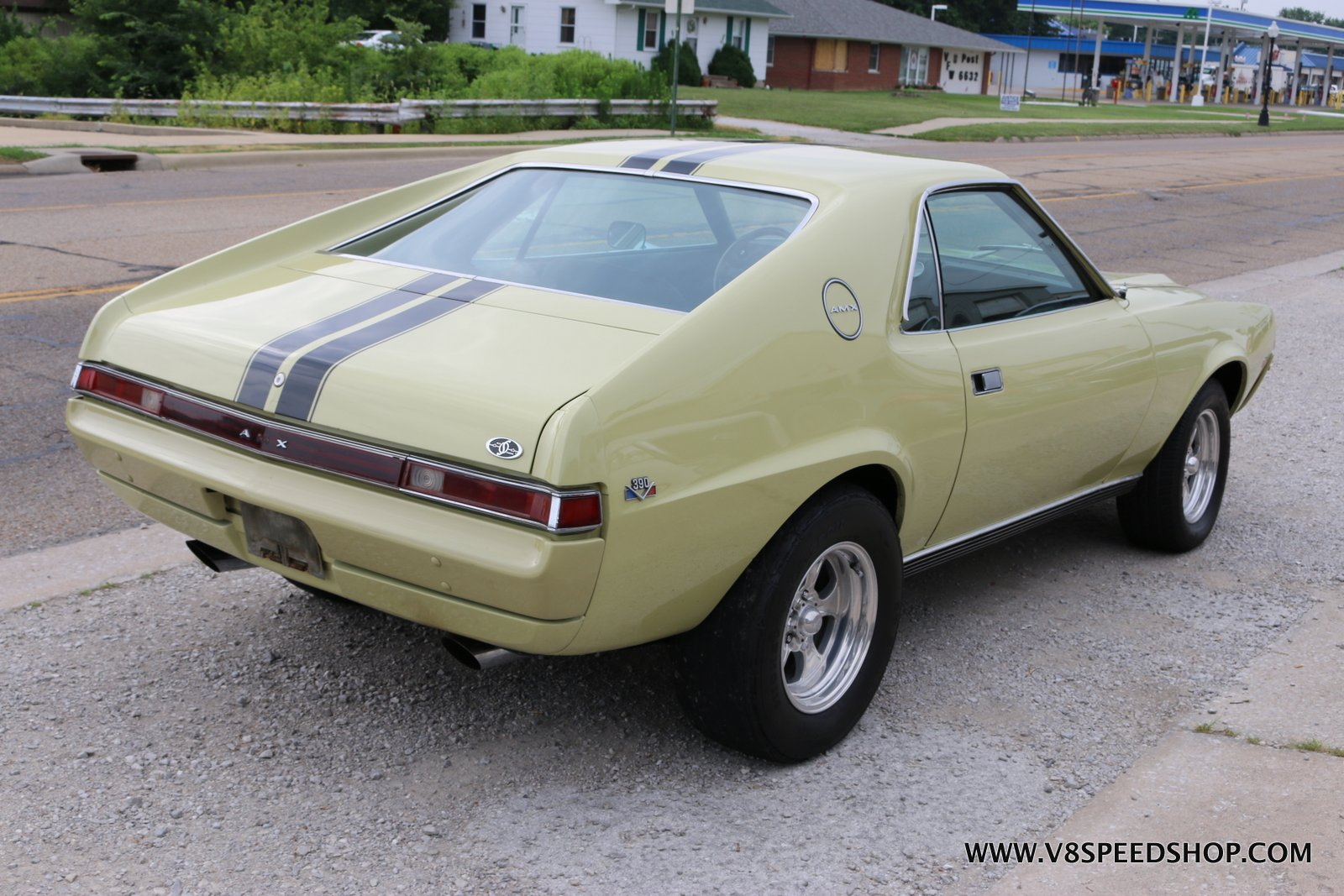 1969 AMC AMX Restoration at the V8 Speed and Resto Shop