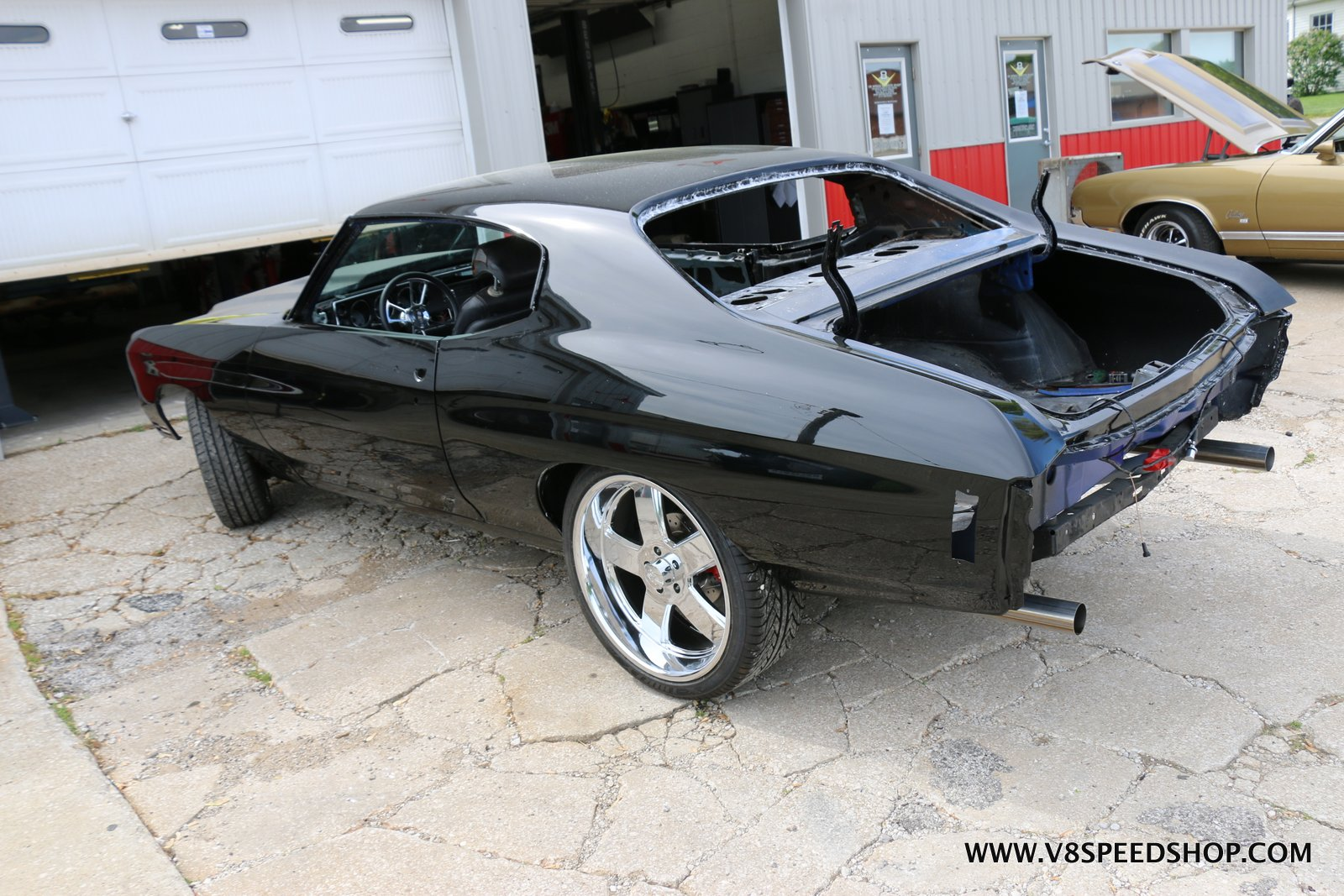 1970 Chevrolet Chevelle LS Tuning at V8 Speed & Resto Shop