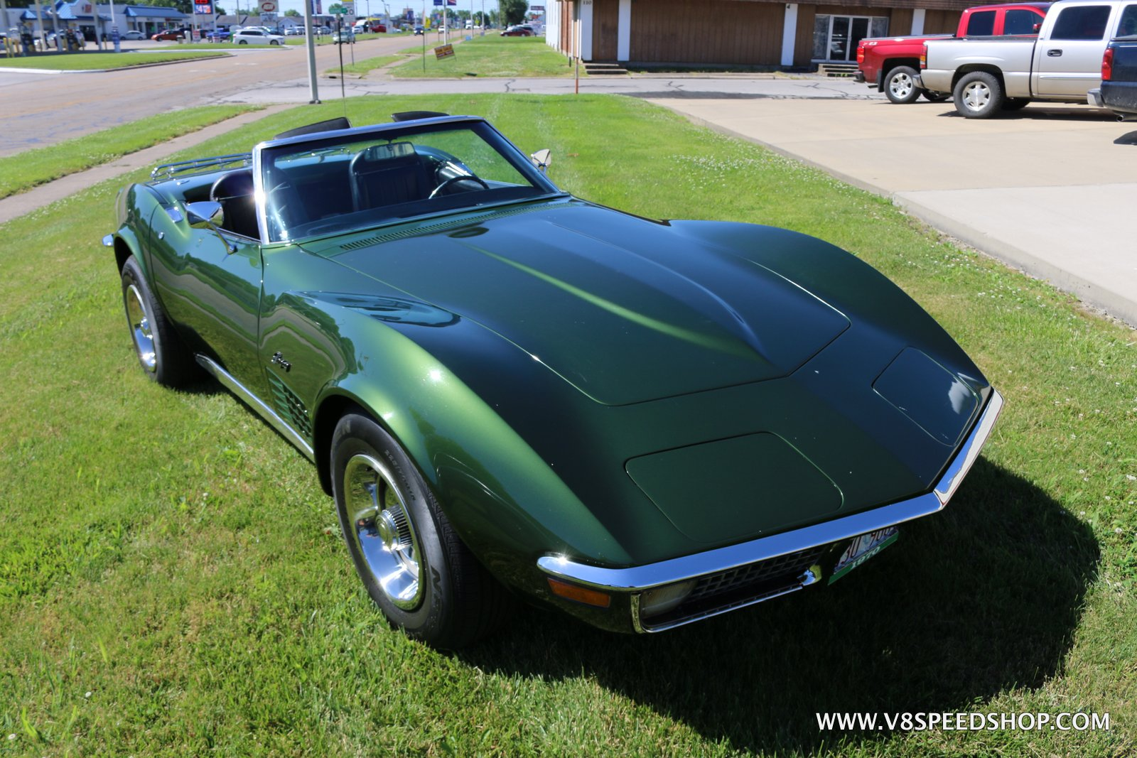 1970 Chevrolet Corvette Suspension Upgrades at the V8 Speed and Resto Shop