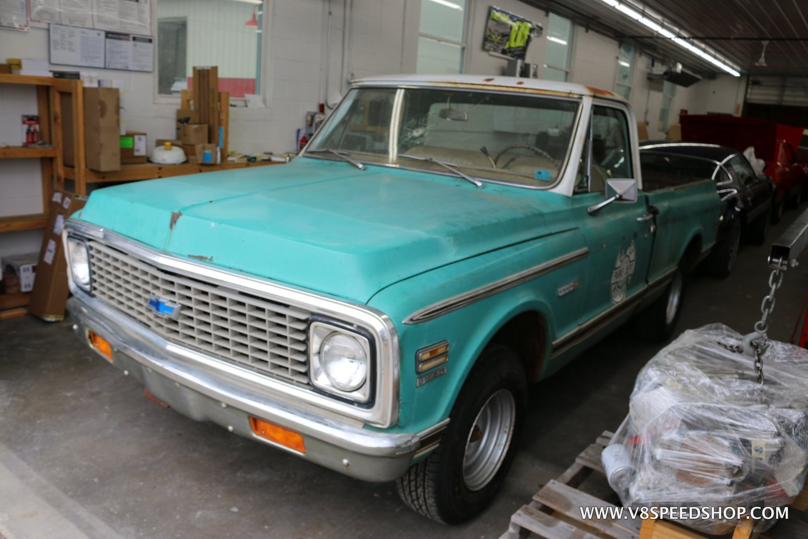 1971 Chevrolet C-10 Pickup Restoration At V8 Speed & Resto Shop