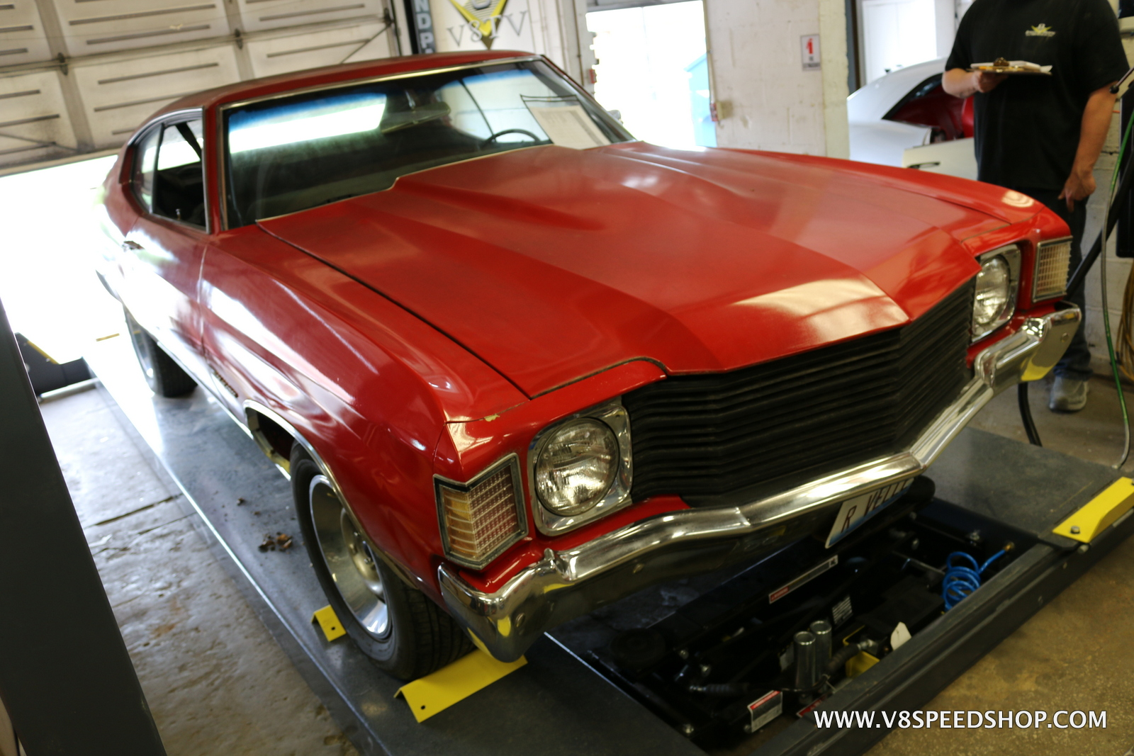 1972 Chevrolet Malibu 350 Restoration Photo Gallery
