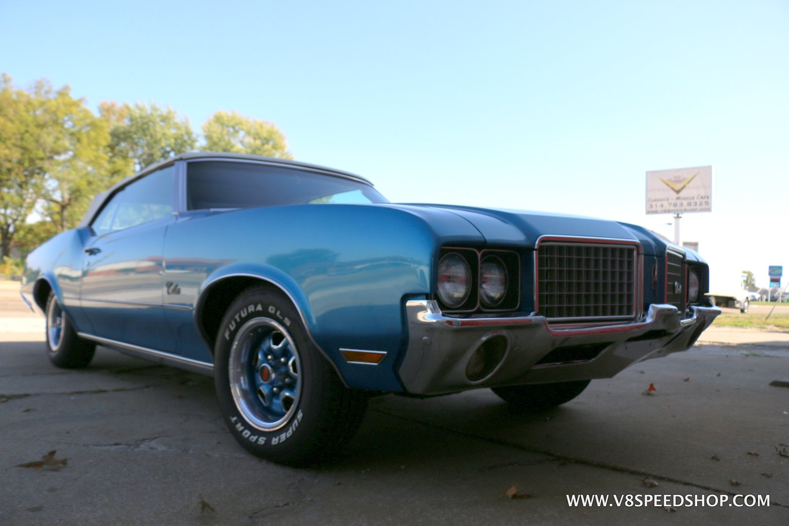 1972 Oldsmobile Cutlass Supreme Convertible Maintenance at V8 Speed and Resto Shop