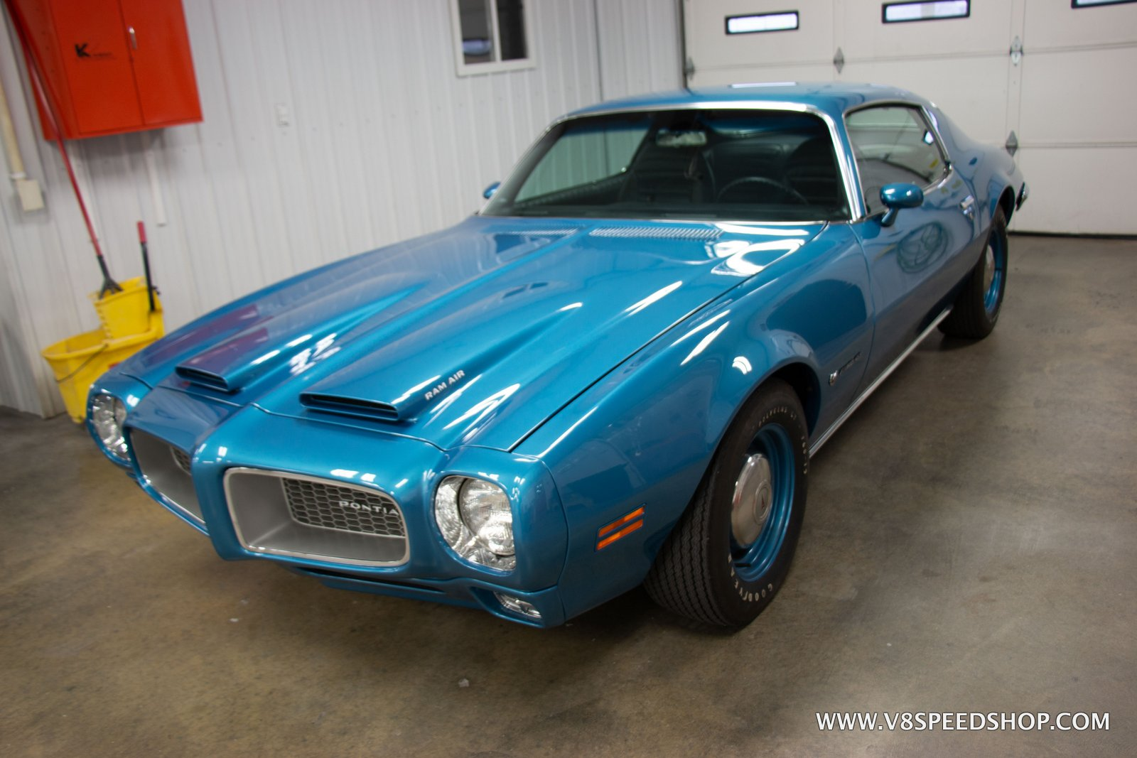 1972 Pontiac Firebird Formula 455 4-Speed at V8 Speed & Resto Shop