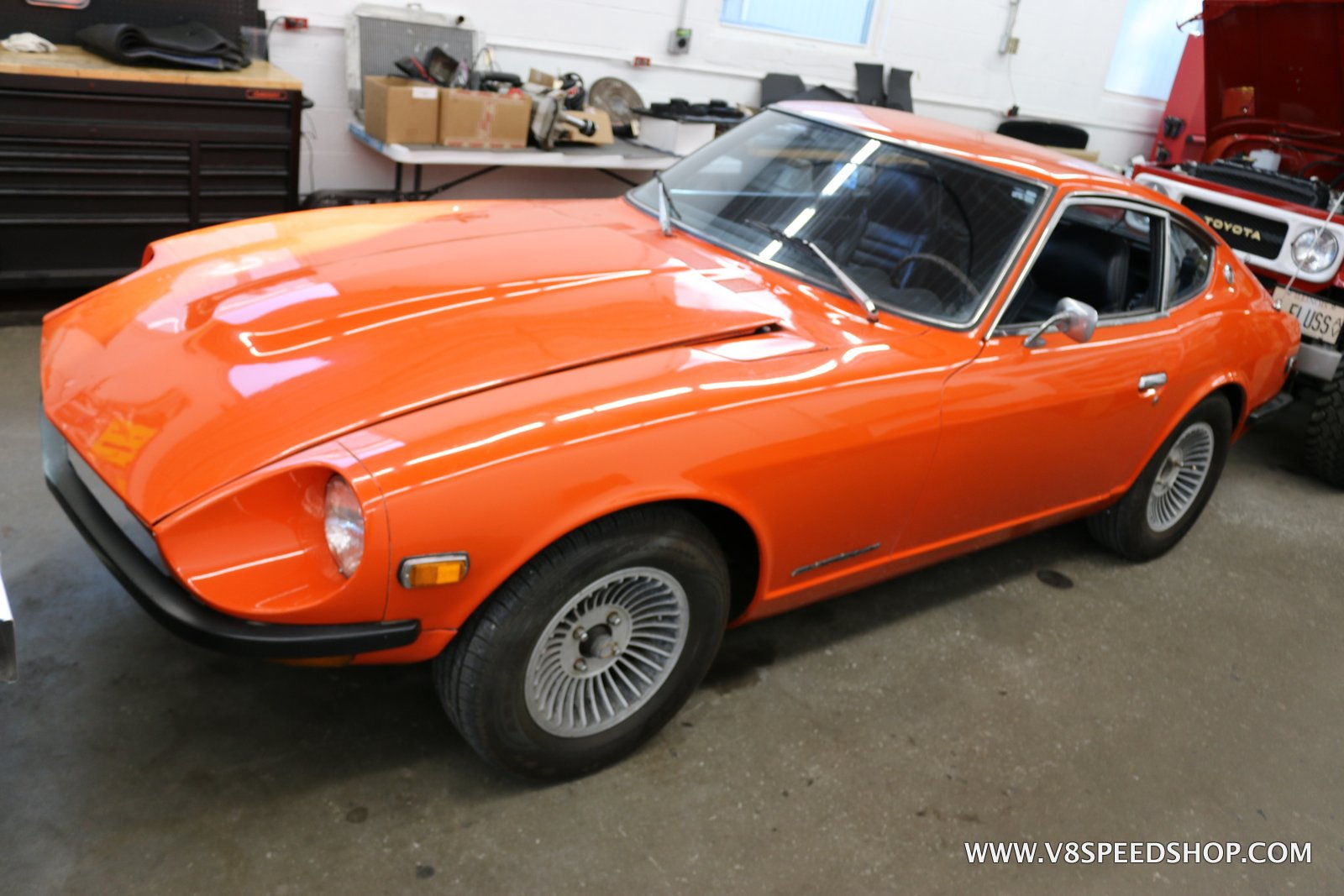 1973 Datsun 240Z Maintenance at the V8 Speed and Resto Shop