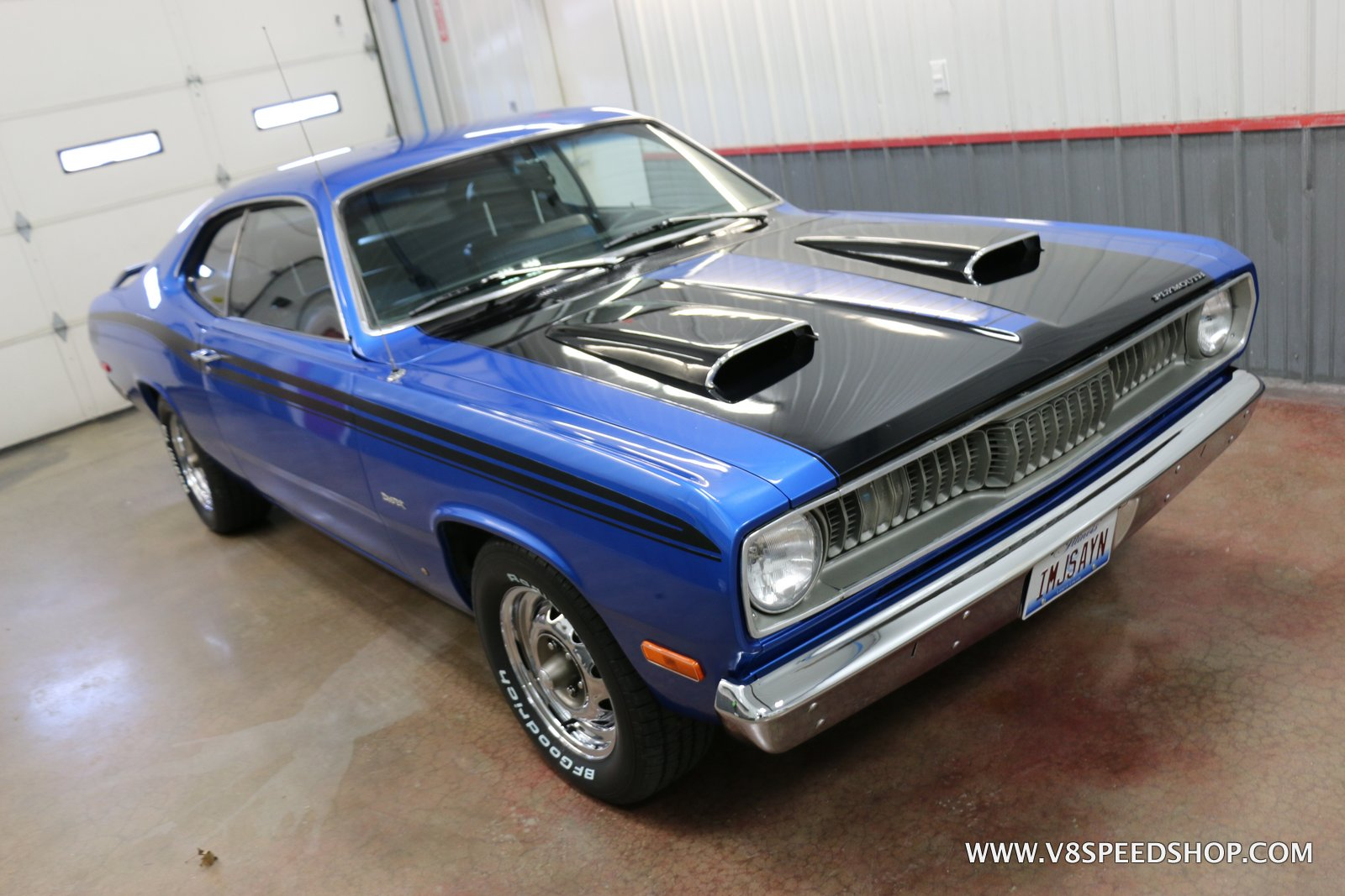 1974 Plymouth Duster Upgrades and Matinenance at the V8 Speed and Resto Shop