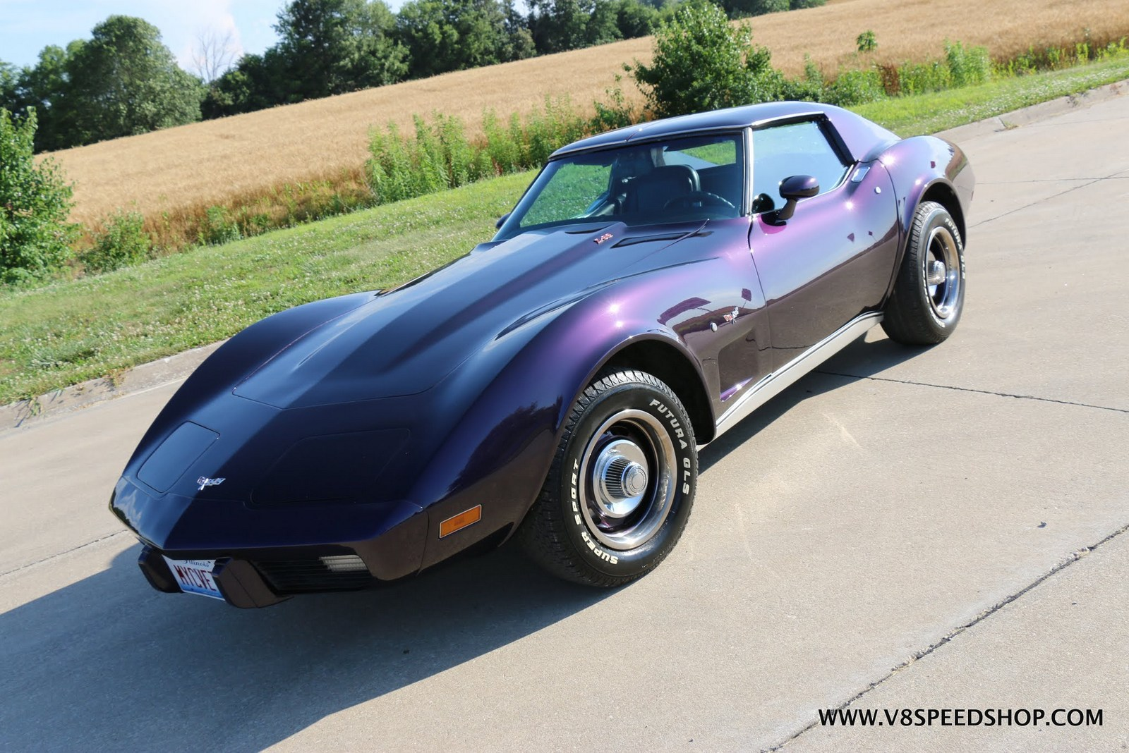 1977 Chevrolet Corvette Upgrades and Custom Console at V8 Speed & Resto Shop