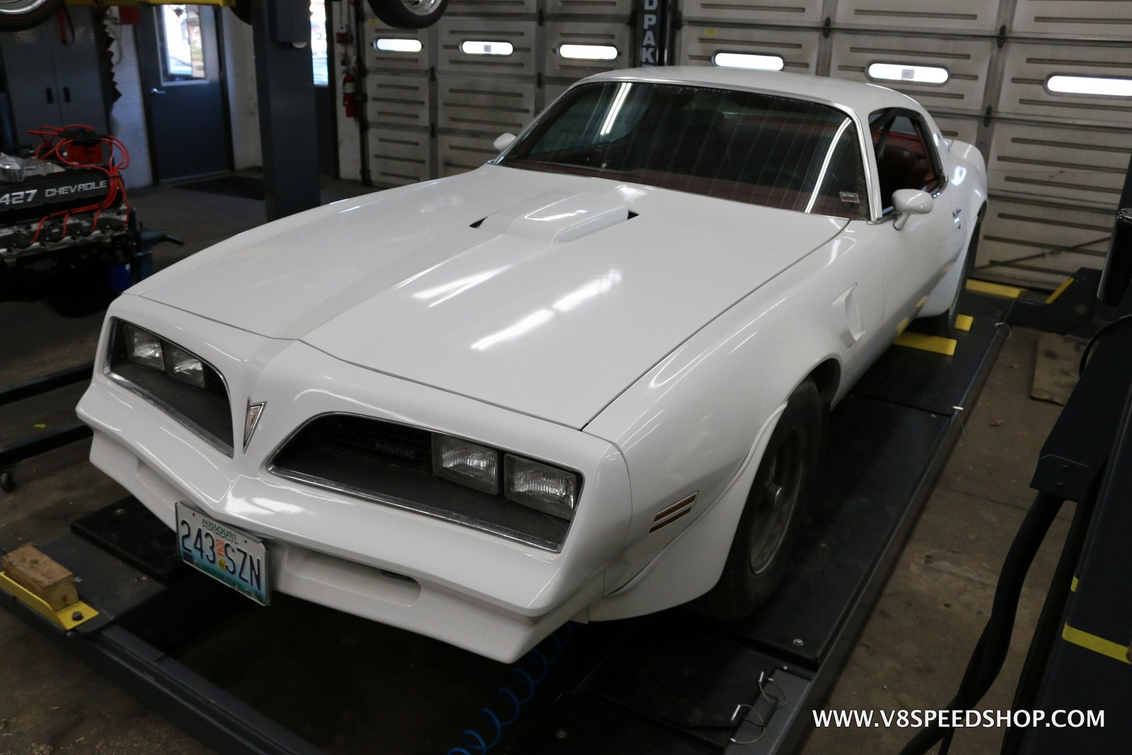 1977 Pontiac Trans Am Final Details at V8 Speed & Resto Shop