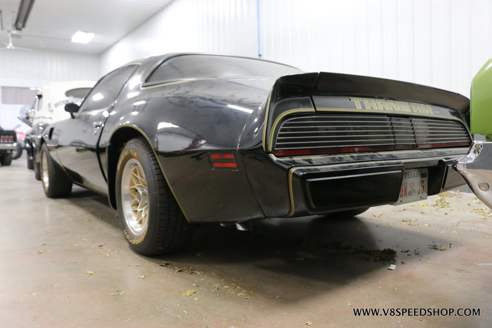 1979 Pontiac Trans Am Performance Upgrades at V8 Speed and Resto Shop