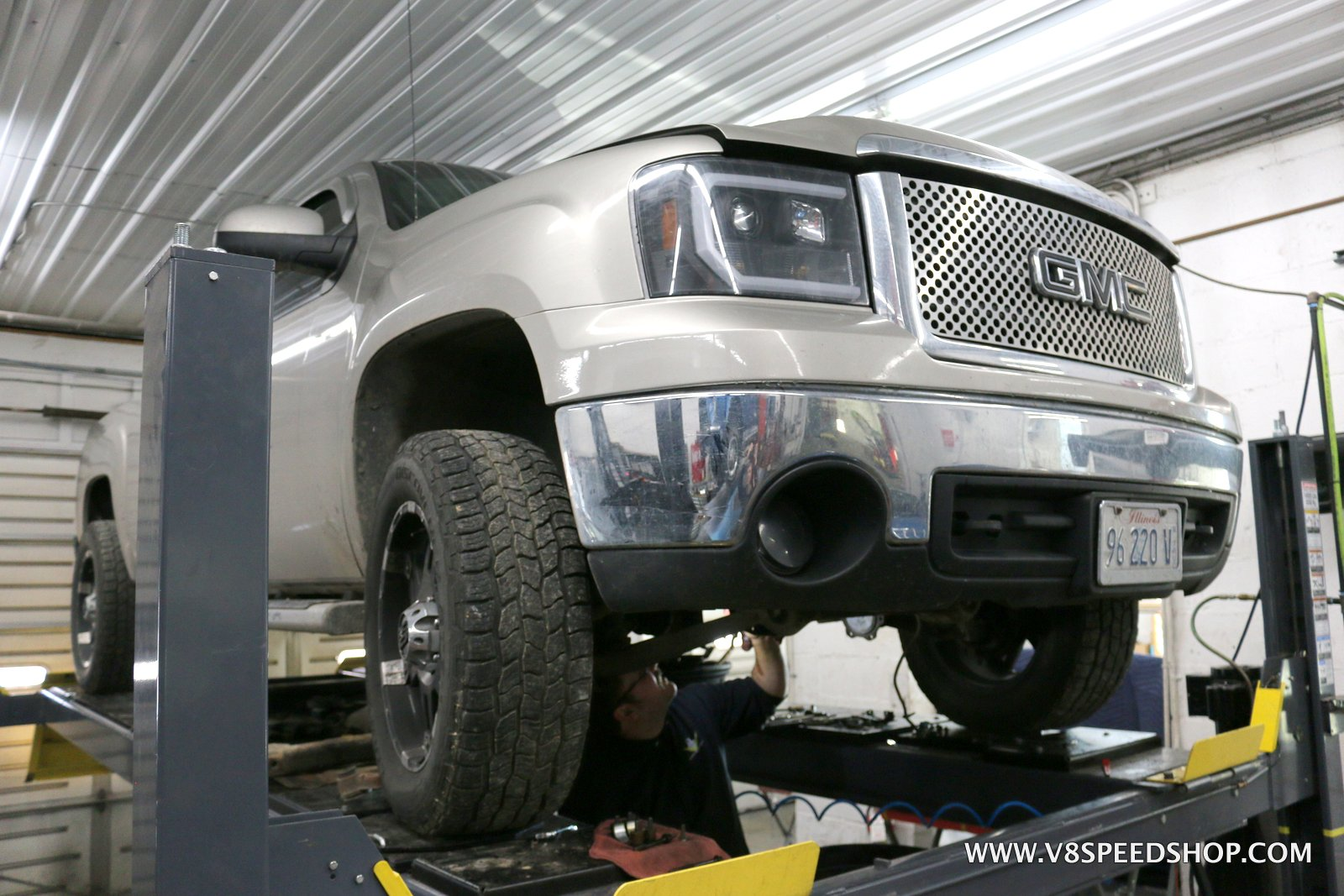 2008 GMC Sierra Z71 Engine and Transmission Upgrades at V8 Speed and Resto Shop