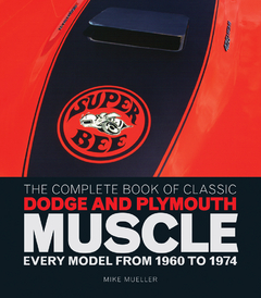 The Complete Book of Classic Dodge and Plymouth MuscleEvery Model from 1960 to 1974