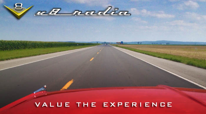 V8 Radio:  Valuing The Experience, Movie Cars, Auction Recaps, Trivia, And More!