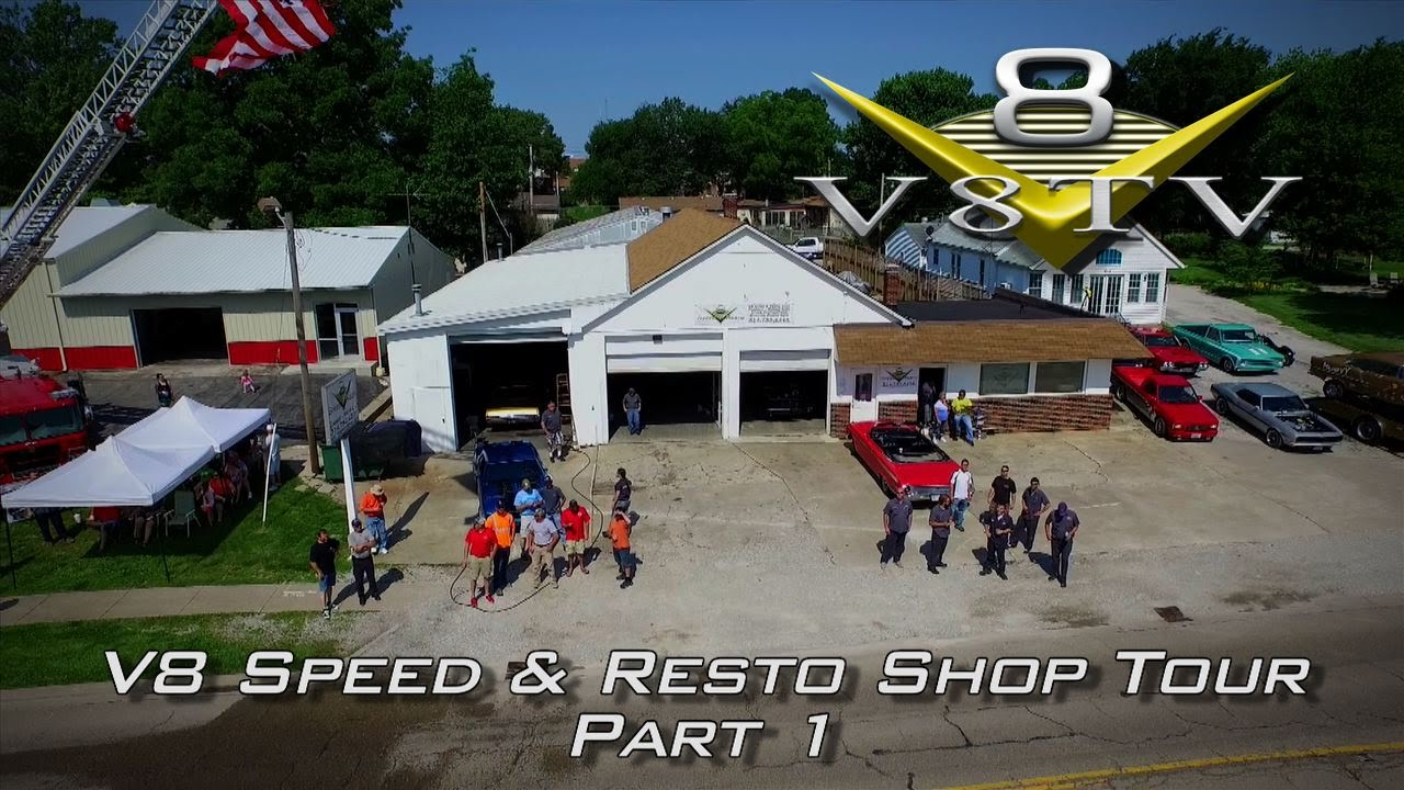 V8 Speed & Resto Shop Tour