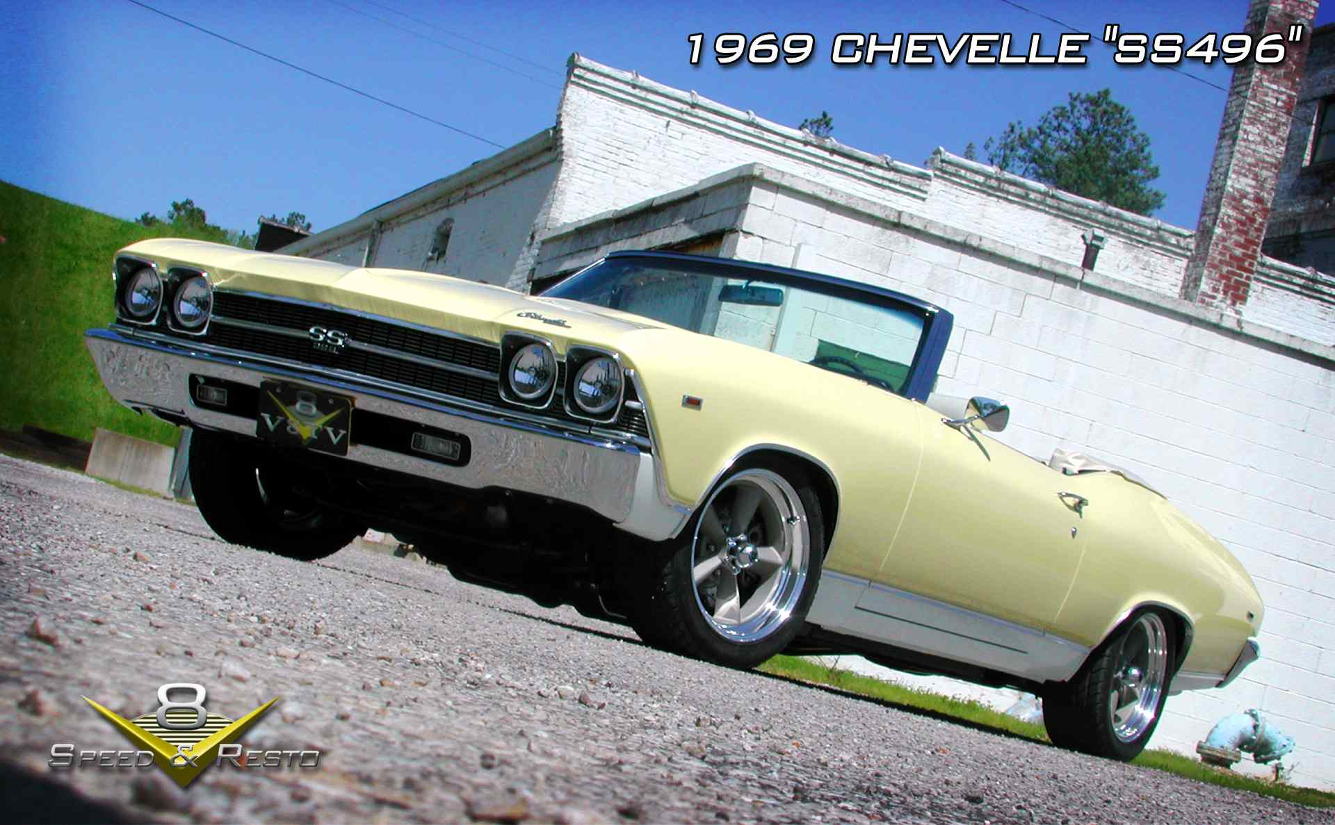 1969 Chevrolet Chevelle SS496 Restoration at V8 Speed & Resto Shop