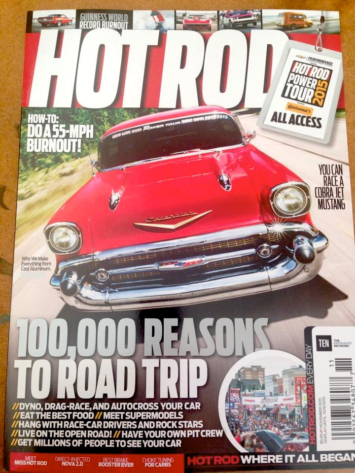 Hot Rod Magazine November, 2015