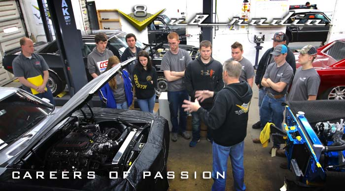 V8 Radio:  Careers Of Passion for Future Technicians and More!