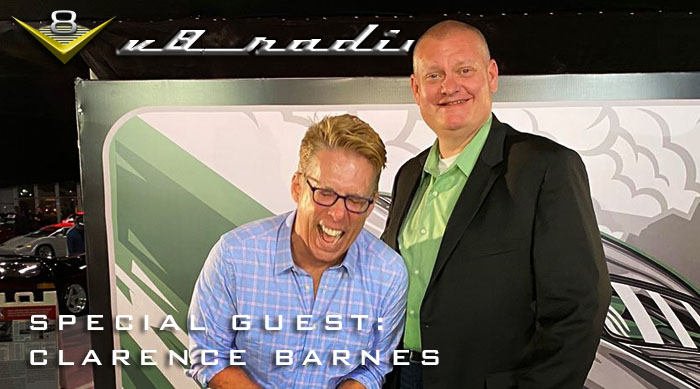 V8 Radio Podcast: Hot Rod Power Tour Host Clarence Barnes, Trivia, and More!