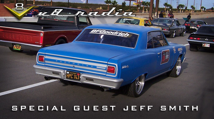 Tales From Editor's Desk with Special Guest Jeff Smith on the V8 Radio Podcast