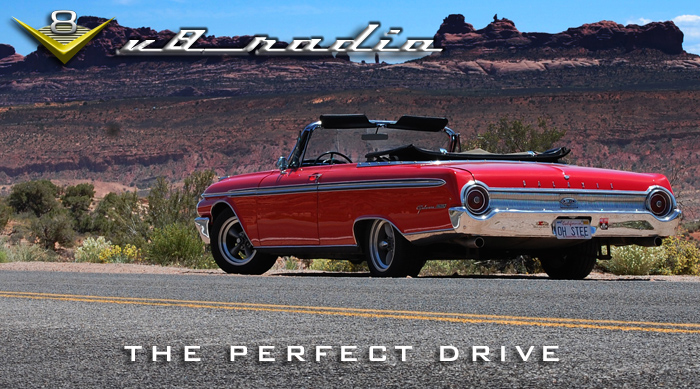 Elements Of The Perfect Drive on the V8 Radio Podcast