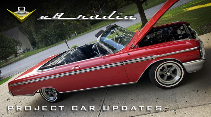 Project Car Updates on the V8 Radio Podcast