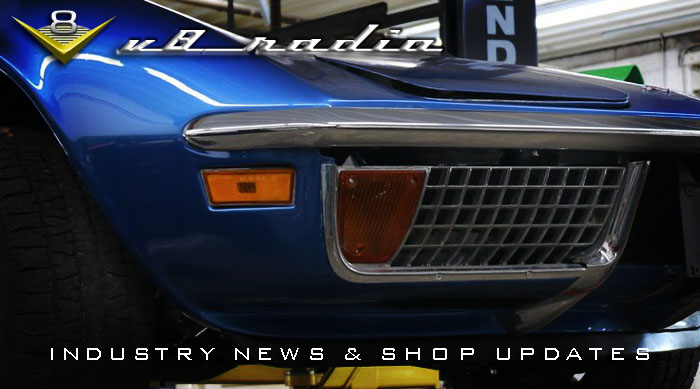 Automotive Industry News, V8 Speed and Resto Shop Updates, Automotive Trivia, and More on the V8 Radio Podcast