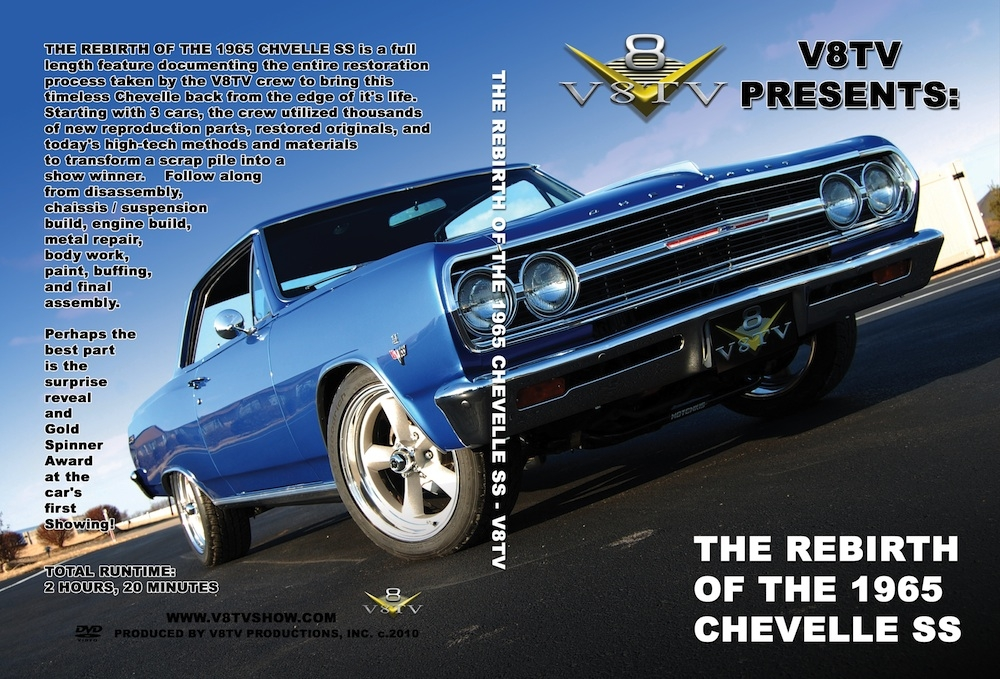 1965 Chevelle Restoration DVD