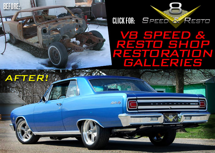 V8 Speed & Resto Shop car restoration photo galleries