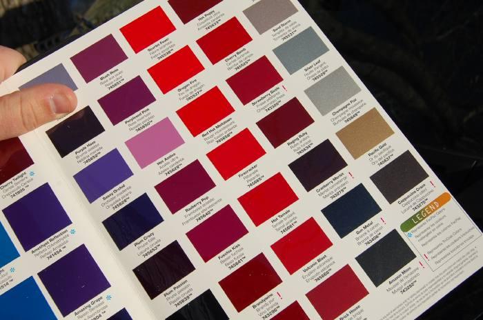 dupont hot hues color autos weblog. Black Bedroom Furniture Sets. Home Design Ideas